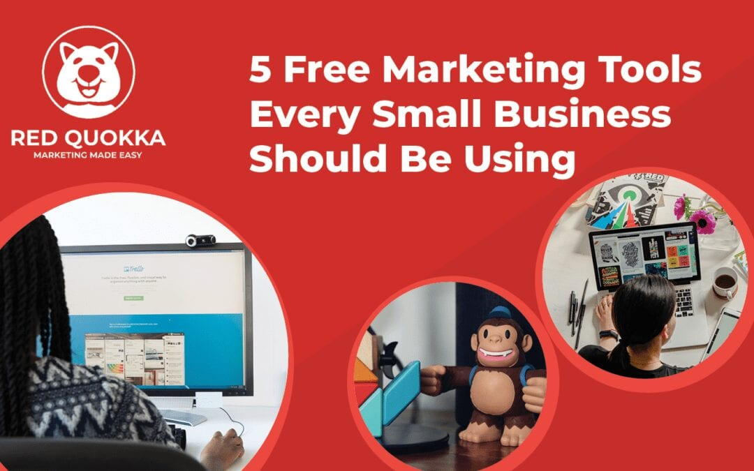 5 Free Marketing tools blog MAIN IMAGE